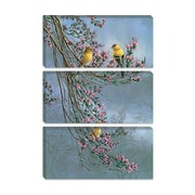 iCanvas 'Gold Finches' by Wanda Mumm Photographic Print on Canvas; 26'' H x 18'' W x 0.75'' D