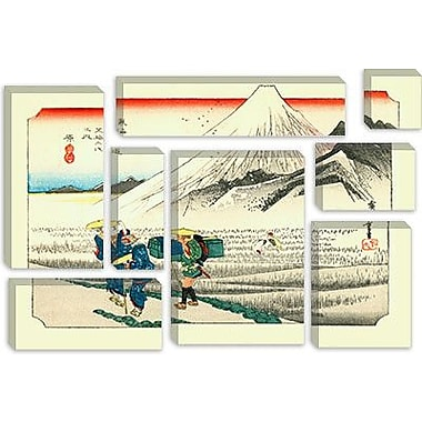 iCanvas 'Hara' by Utagawa Hiroshige Painting Print on Canvas; 12'' H x 18'' W x 1.5'' D
