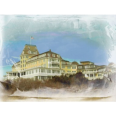 Graffitee Studios Rhode Island Ocean House - Watch Hill Graphic Art on Wrapped Canvas