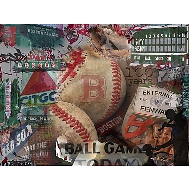 Graffitee Studios Red Sox Entering Fenway Graphic Art on Wrapped Canvas