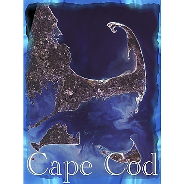 Graffitee Studios Cape Cod Sky View Graphic Art on Wrapped Canvas