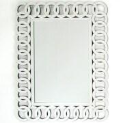 Wayborn Rectangle Beveled Wall Mirror