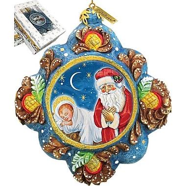 G Debrekht St. Nick Reason for The Season Ornament