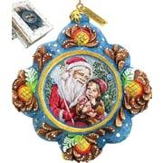 G Debrekht Sharing Secrets Ornament