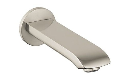 Hansgrohe Metris Wall Mounted Tub Spout; Brushed Nickel