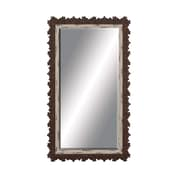 Woodland Imports Jagged Edged Border Wall Mirror