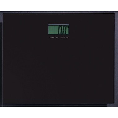 Gedy by Nameeks Rainbow Electronic Bathroom Scale; Black