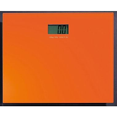 Gedy by Nameeks Rainbow Electronic Bathroom Scale; Orange