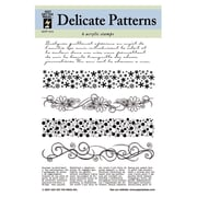 Hot Off the Press Delicate Patterns Clear Stamp Set