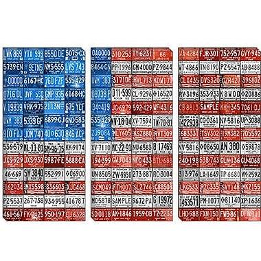 iCanvas Decorative 'Michigan Flag' by David Bowman Graphic Art on Canvas; 40'' H x 60'' W x 1.5'' D