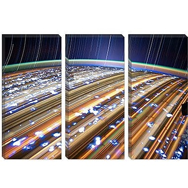 iCanvas Astronomy and Space 'Long Exposure Star Photograph from Space III' Graphic Art on Canvas