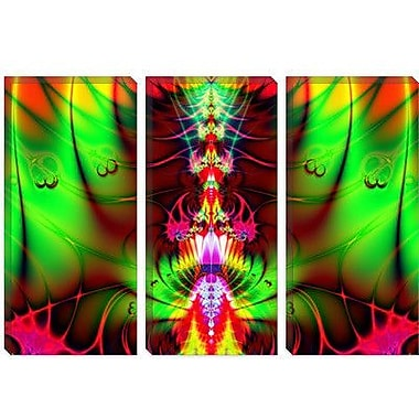 iCanvas Digital Liquid Spine Graphic Art on Canvas; 26'' H x 40'' W x 0.75'' D