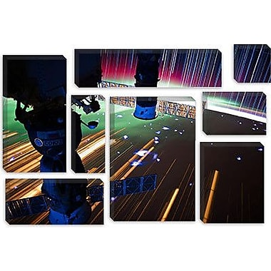 iCanvas Astronomy and Space ''Long Exposure Star Photograph from Space VI'' Graphic Art on Canvas