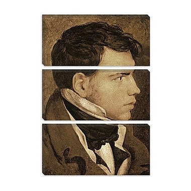 iCanvas 'Portrait of a Young Man' by Jean Auguste Ingres Painting Print on Canvas