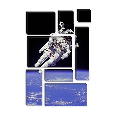 iCanvas Astronomy and Space 'NASA Astronaut' Photographic Print on Canvas; 40'' H x 26'' W x 1.5'' D