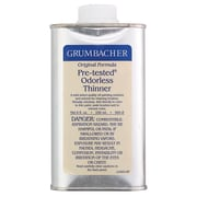 Grumbacher Odorless Paint Thinner; 8 oz