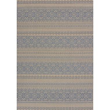 United Weavers of America Solarium Blue Alfresco Indoor/Outdoor Area Rug; 7'10'' x 10'6''
