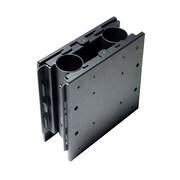 Peerless-AVMD – Gaine à cheminée double ACC604 pour FPZ-600, noir