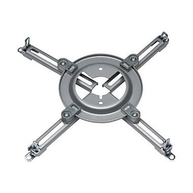 Peerless-AVMD – Plaque d'adaptateur universelle Spider pour projecteurs, capacité de 50 lb, argenté