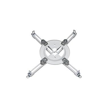Peerless-AVMD – Plaque d'adaptateur universelle Spider pour projecteurs, capacité de 50 lb, blanc