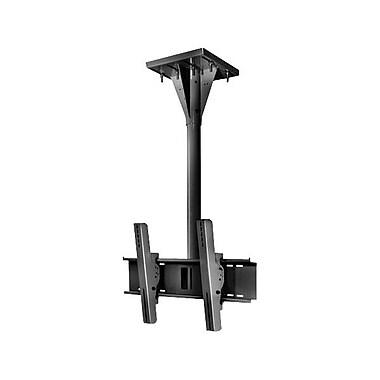 Peerless-AVMD – Support de plafond résistant au vent ECMU-03-I de 3 po sur poutre en I pour écran plat, cap. 200 lb, noir