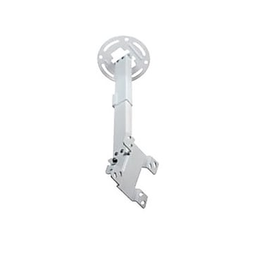 Peerless-AV® PC930A Ceiling Mount For Flat Displays, 50 lb. Capacity, White
