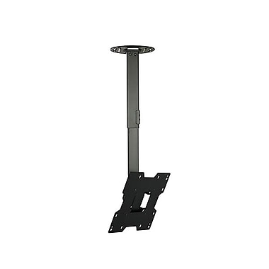 Peerless-AV® PC932B Ceiling Mount For Flat Displays, 80 lb. Capacity
