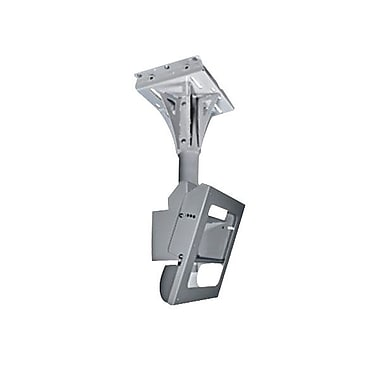 Peerless-AV® FPECMC-01 Tilting Ceiling Mount For Flat Displays, 400 lb. Capacity, Stone Grey