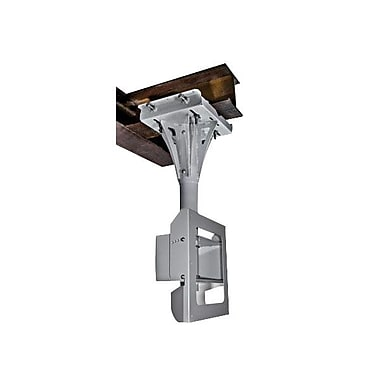 Peerless-AV® FPECMI-04 Tilting I-Beam Ceiling Mount For Flat Displays, 400 lb. Capacity, Stone Grey