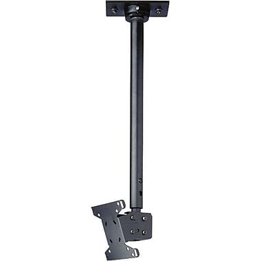 Peerless-AVMD – Support de plafond pour écrans plats LCC-18, capacité de 40 lb, noir