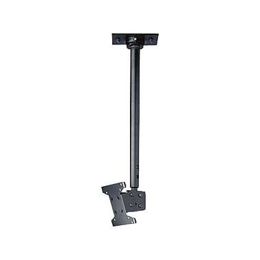 Peerless-AV® LCC-36-C Ceiling Mount With Cord Management Covers For Flat Displays, 40 lb. Capacity, Black