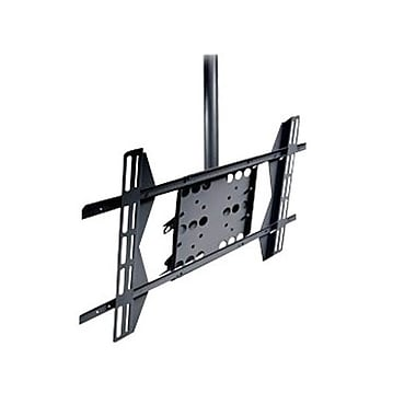 Peerless-AV® PLCM-UN1 Straight Column Ceiling Mount For Flat Displays, 125 lb. Capacity, Black