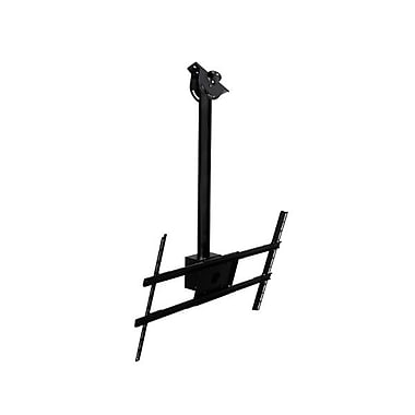 Peerless-AV® Modular 1m Ceiling Mount Kit For Flat Panel Display, 132 lb. Capacity, Black