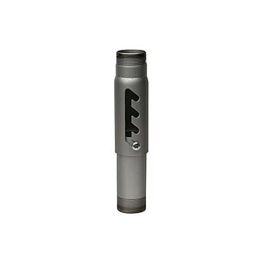 Peerless-AVMD – Colonne d'extension en acier réglable de 6-9 po avec capacité de 900 lb, argenté