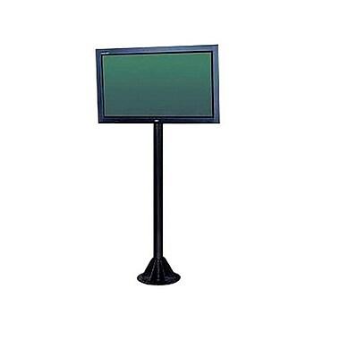 Peerless-AVMD – Piédestal d'écran plasma plat COL610P de 6 po de hauteur pour écrans de 50 po maximum, noir