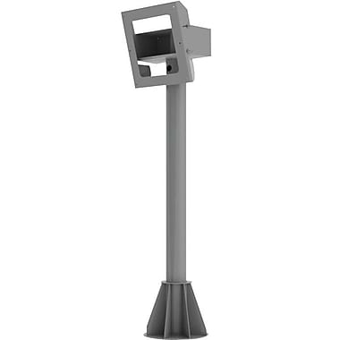 Peerless-AV® FPEPM 6' Pedestal Mount For Protective Enclosures, 400 lb. Capacity, Grey
