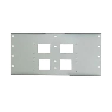 Peerless-AVMD – Plaque murale à triple fixation métallique 15 3/5 x 49 1/5 x 2,4 po pour la gamme PLA, blanc