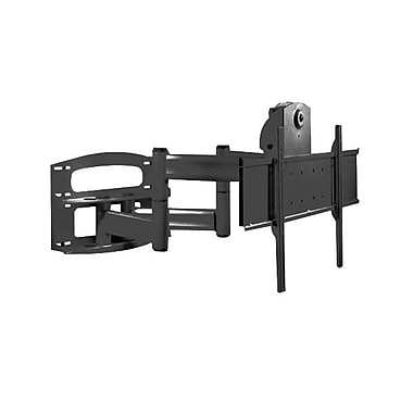 Peerless-AV® Articulating Dual Wall Arm With Vertical Adjustment For Display Monitors, 42