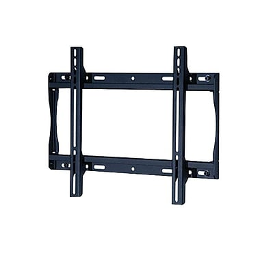 Peerless-AV® SF640-A Antimicrobial Universal Flat Wall Mount For Displays, 32