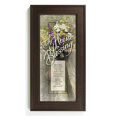 The James Lawrence Company House Blessing - May Our Home Framed Graphic Art
