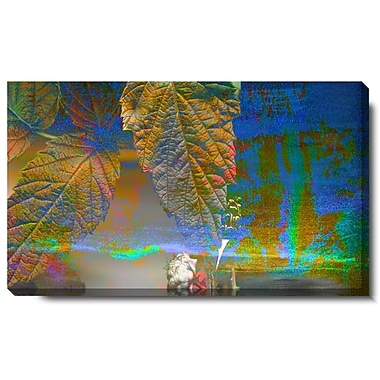 Studio Works Modern ''Abstract Autumn'' by Zhee Singer Graphic Art on Wrapped Canvas