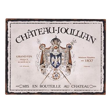 Wilco Home 'Chateau / Pontet' Vintage Advertisement Plaque