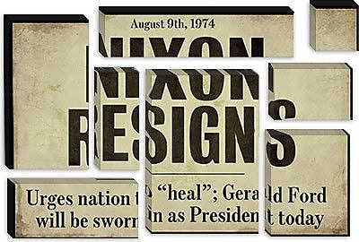 iCanvas Color Bakery 'Nixon' Textual Art on Canvas; 18'' H x 26'' W x 0.75'' D