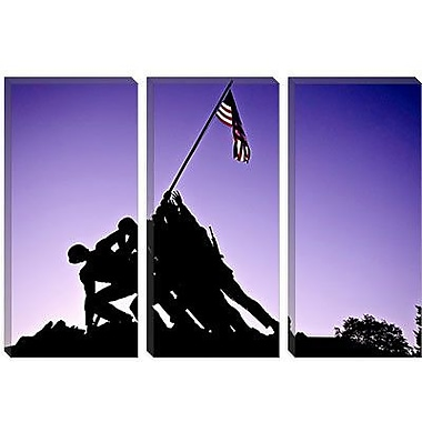 iCanvas Architecture 'World War II Iwo Jima Memorial' Photographic Print on Canvas