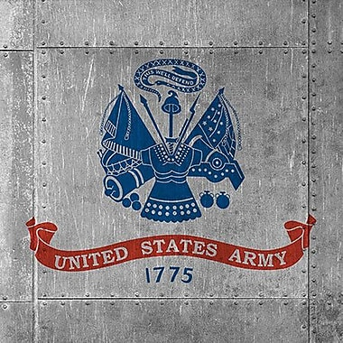 iCanvas Flags Army Graphic Art on Wrapped Canvas; 26'' H x 26'' W x 1.5'' D