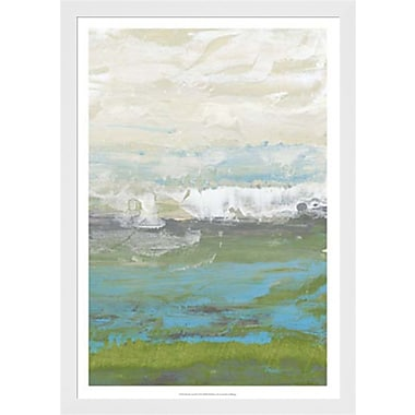 Evive Designs Heather Seas II by Jennifer Goldberger Framed Painting Print