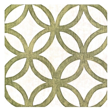 Evive Designs Garden Tile III by Chariklia Zarris Graphic Art