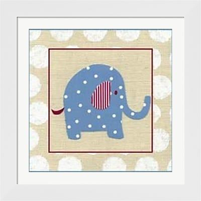 Evive Designs Katherine's Elephant Framed Art