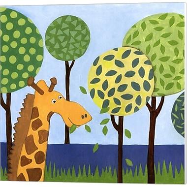 Evive Designs Jungle Fun III Canvas Art