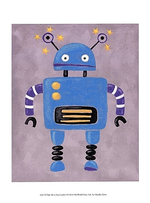 Evive Designs Take Me to Your Leader I by Chariklia Zarris Painting Print